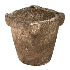 Stone Mortar French Jardiniere