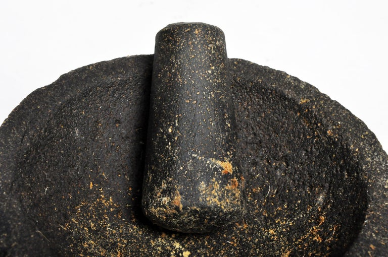 Stone Mortar with Pestle For Sale 2