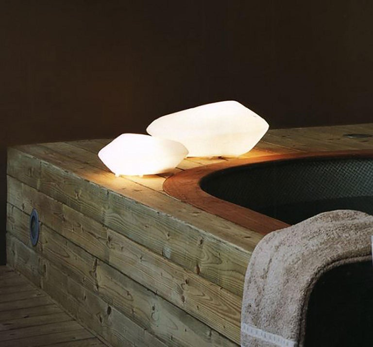 Stone of Glass Table Lamp by Marta Laudani & Marco Romanelli for Oluce For Sale 1