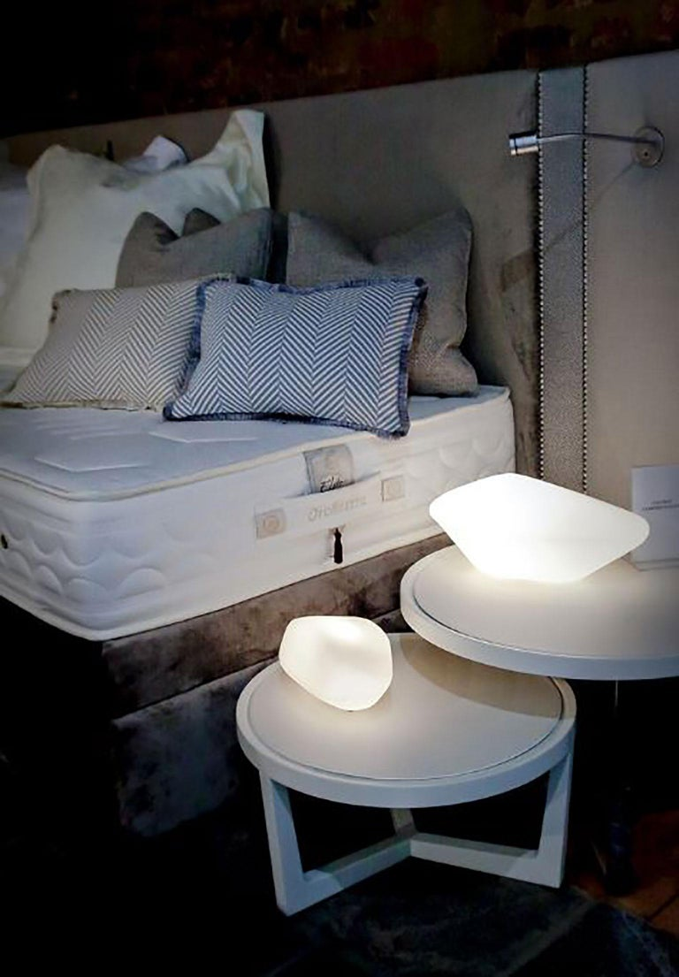 Stone of Glass Table Lamp by Marta Laudani & Marco Romanelli for Oluce For Sale 2