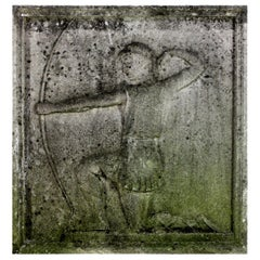 Stone Relief of an Archer