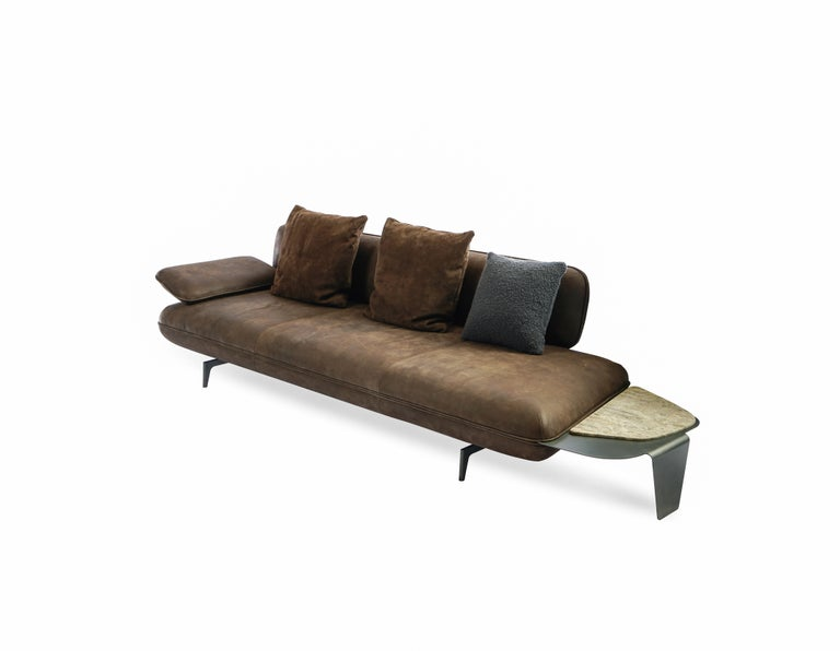 European Stone Sofa by Maurizio Manzoni For Sale