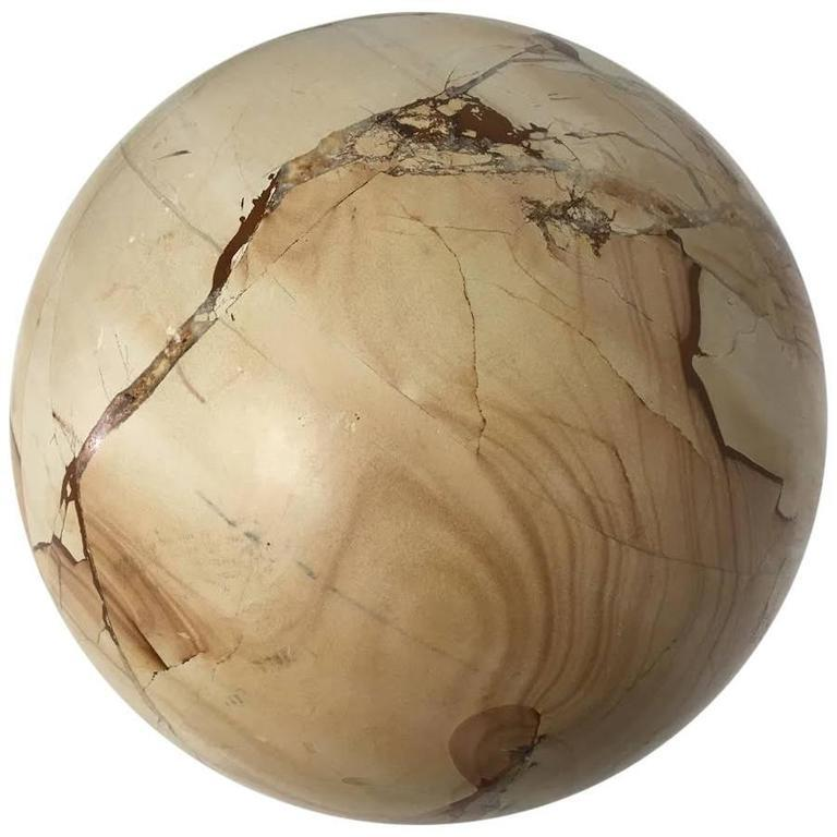 Large Stone Sphere Ball For Sale at 1stdibs