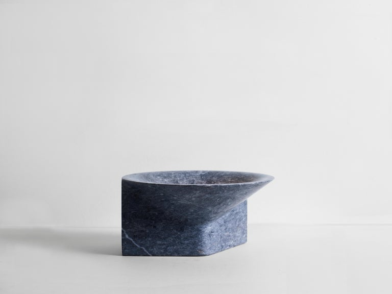 Modern Stone Uplight by Henry Wilson For Sale