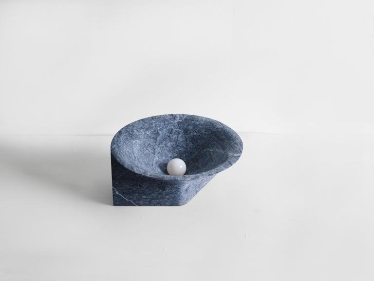 Stone Uplight by Henry Wilson In New Condition For Sale In Collonge Bellerive, Geneve, CH