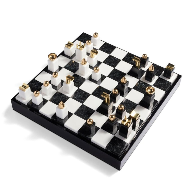 Portuguese Stones Chess Game For Sale