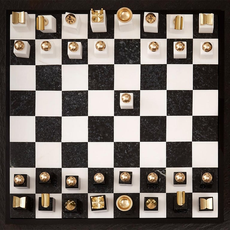 Stones Chess Game In New Condition For Sale In Paris, FR