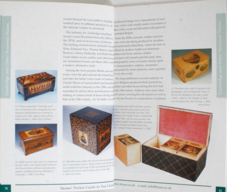 Stones' Pocket Guide to Tea Caddies by Noël Riley For Sale 4