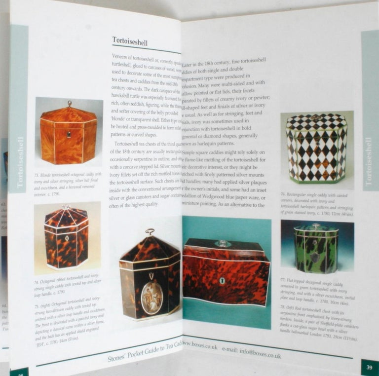 Stones' Pocket Guide to Tea Caddies by Noël Riley For Sale 5