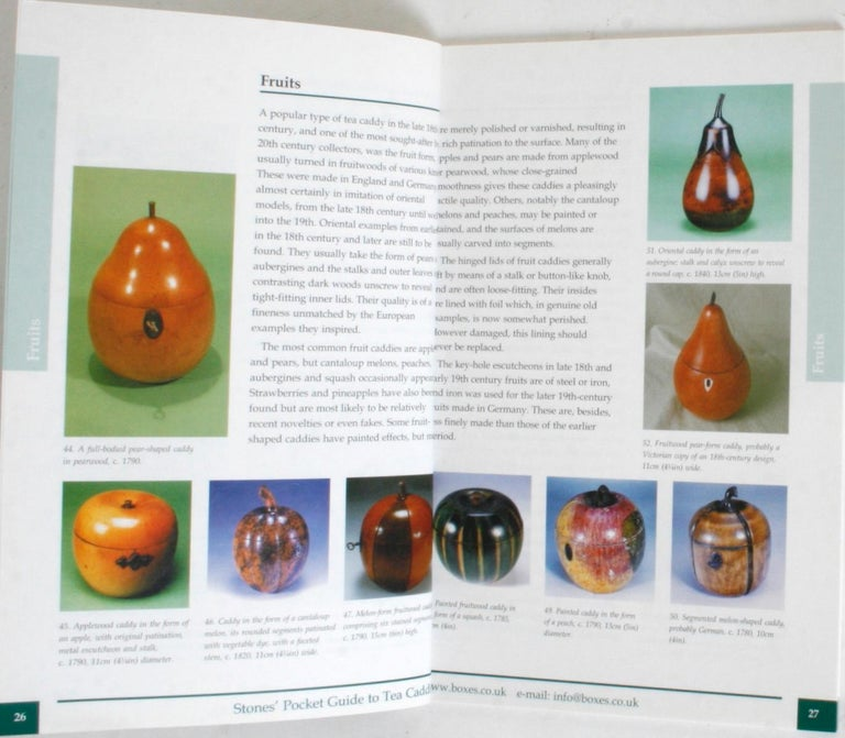 Stones' Pocket Guide to Tea Caddies by Noël Riley For Sale 2