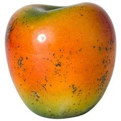 Stoneware Apple Sculpture by Hans Hedberg