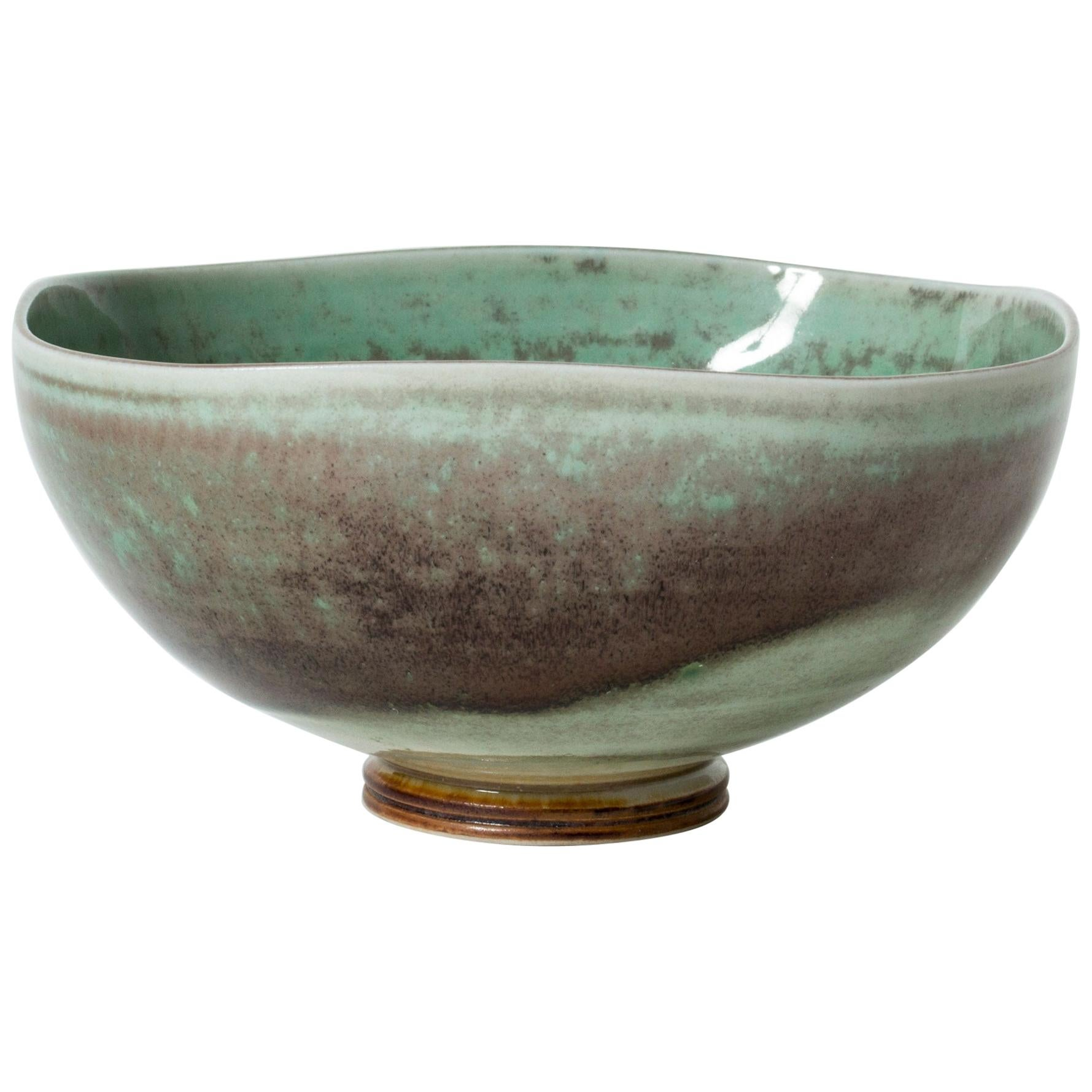 Stoneware Bowl by Berndt Friberg for Gustavsberg, Sweden, 1975