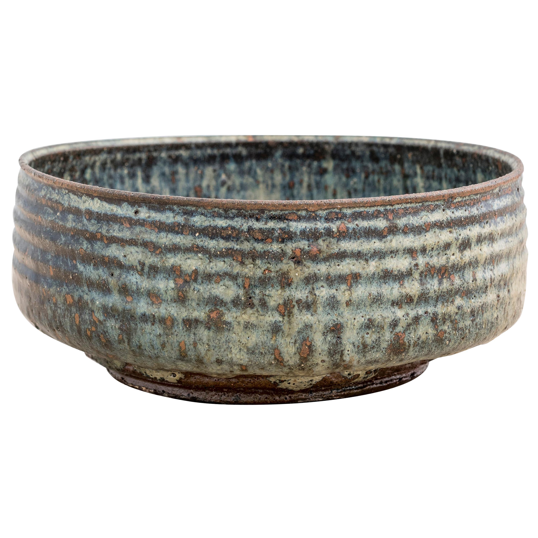 Stoneware Bowl by Gutte Eriksen