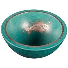 Stoneware Bowl by Wilhelm Kage, Gustavsberg, Sweden, 1930s