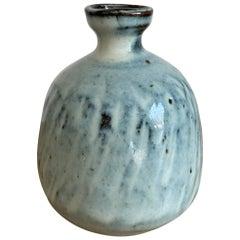 Stoneware Bud Vase by Mats Svensson