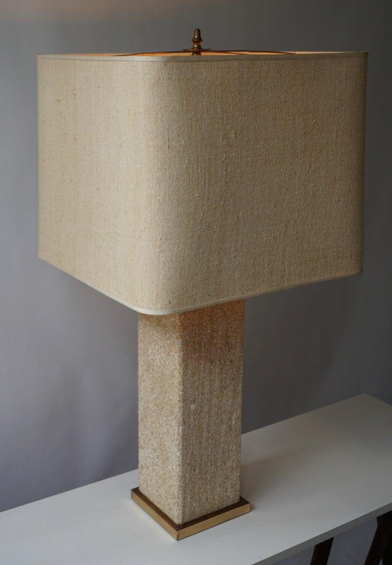 Stoneware Ceramic Italian Table Lamp For Sale 4