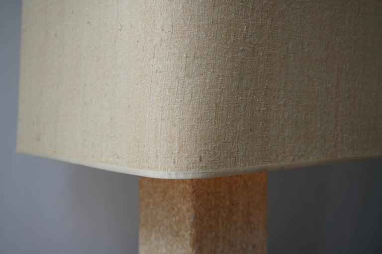 Stoneware Ceramic Italian Table Lamp For Sale 7