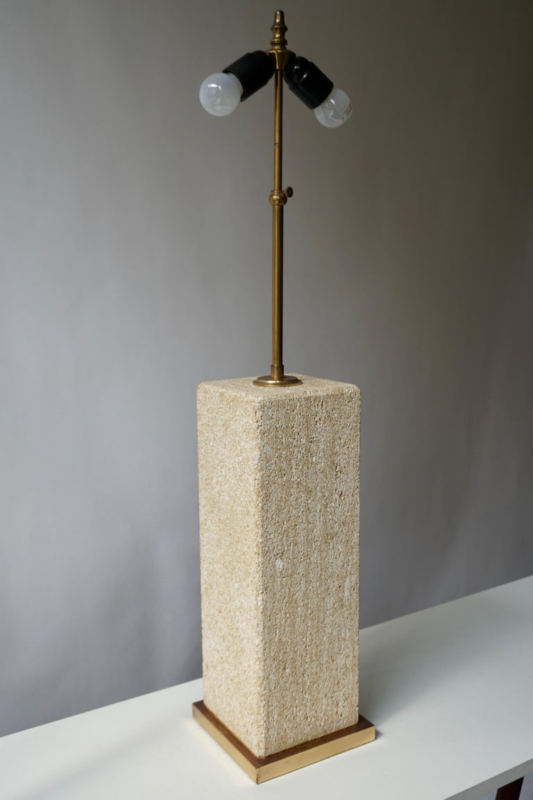 Stoneware Ceramic Italian Table Lamp In Good Condition For Sale In Antwerp, BE