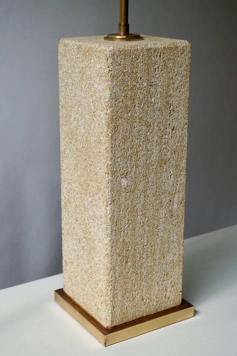 20th Century Stoneware Ceramic Italian Table Lamp For Sale