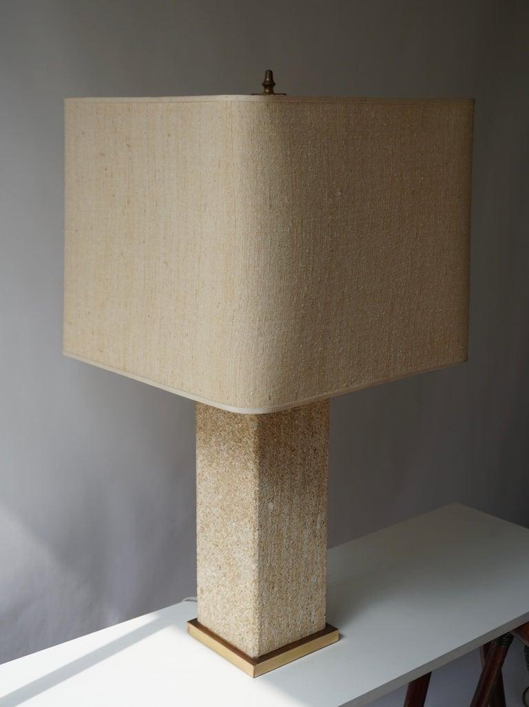 Stoneware Ceramic Italian Table Lamp For Sale 1