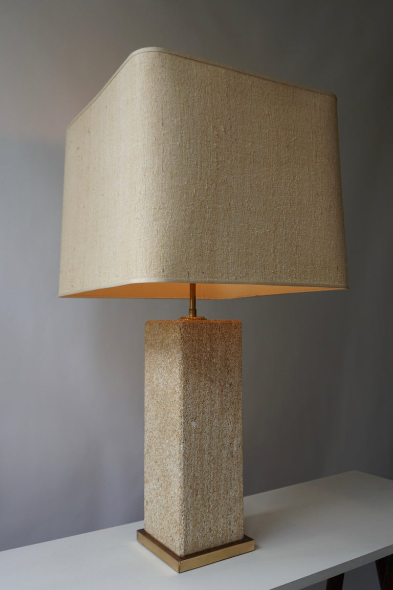 Stoneware Ceramic Italian Table Lamp For Sale 3
