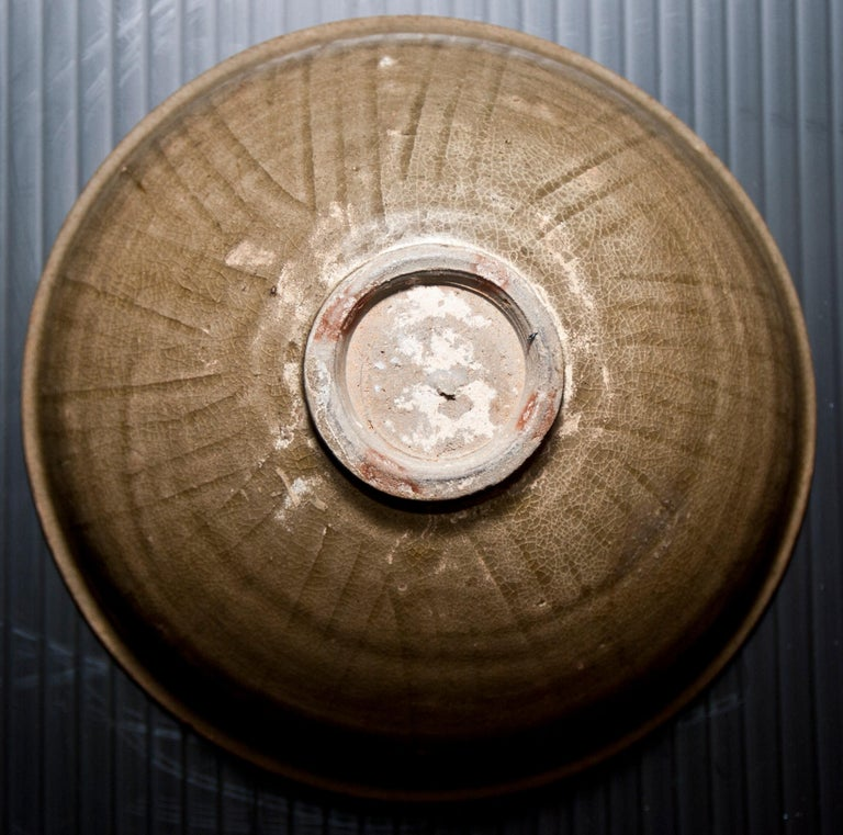 Glazed Stoneware Chinese Bowl, Sung Period, 12th-14th Century For Sale