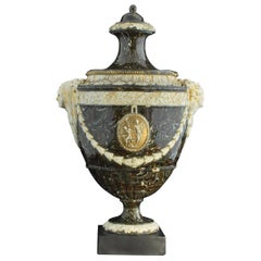 Stoneware Effect Vase, Palmer, circa 1775