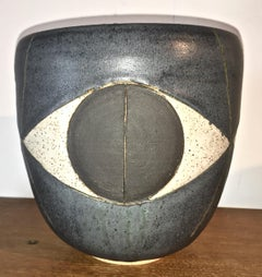 "Stoneware ""Felix"" Bowl by Studio Potter Matthew Ward, USA 2015"