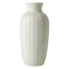 Stoneware Floor Vase by Anna-Lisa Thomson for Upsala-Ekeby, Sweden, 1940s