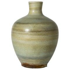 Stoneware Floor Vase by Gertrud Lönegren