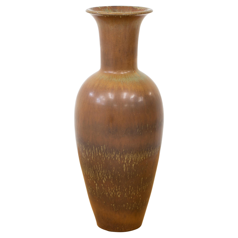 Stoneware Floor Vase by Gunnar Nylund for Rörstrand, Sweden, 1950s
