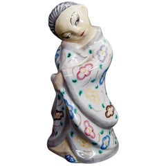 Stoneware Geisha Figurine L. Hjorth, Denmark