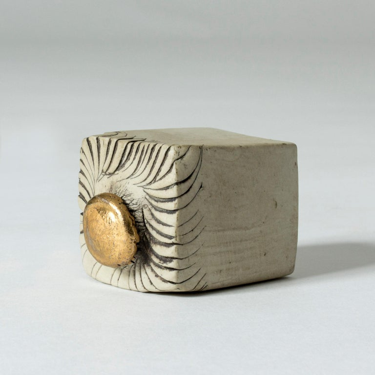 Scandinavian Modern Stoneware Sculpture by Bengt Berglund for Gustavsberg, Sweden, 1960s