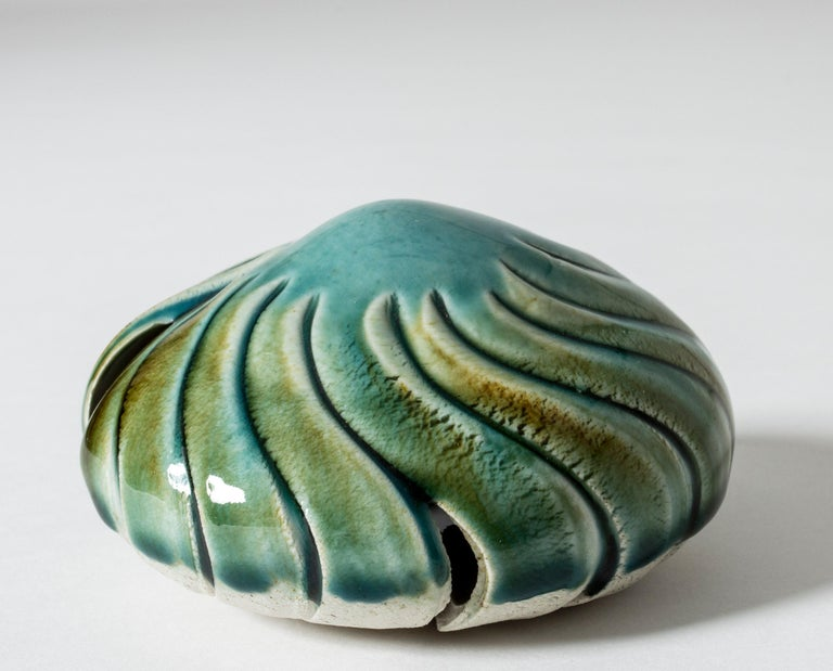 Swedish Stoneware Sculpture by Bengt Berglund for Gustavsberg, Sweden, 1960s For Sale