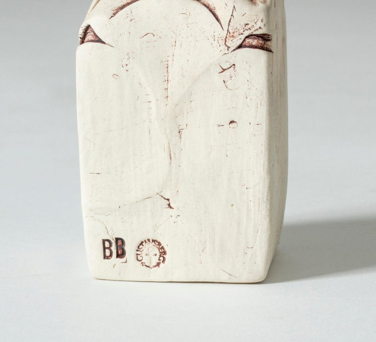 Stoneware Sculpture by Bengt Berglund for Gustavsberg, Sweden, 1960s In Good Condition For Sale In Stockholm, SE