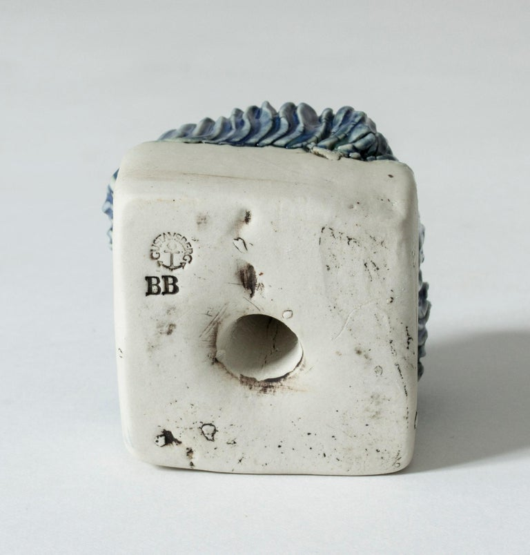 Mid-20th Century Stoneware Sculpture by Bengt Berglund for Gustavsberg, Sweden, 1960s For Sale