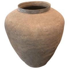 Stoneware Storage Jar China East Zhou Dynasty