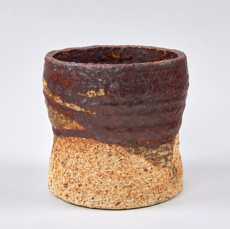 Stoneware Studio Vase by Annikki Hovisaari For Sale 2