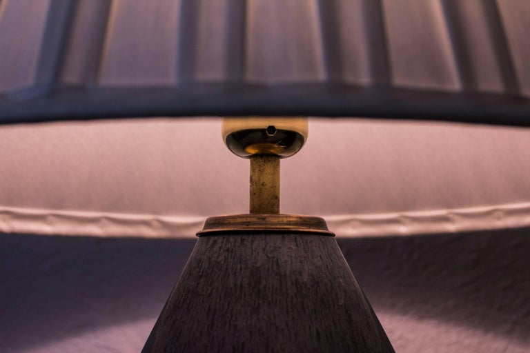 Stoneware Table Lamp by Carl Harry Stålhane, Sweden, 1950s For Sale 5