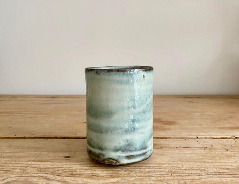 Stoneware teacup with nuka glaze   Handmade by Mats Svensson  Sweden, 2020.