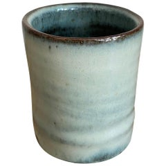 Stoneware Teacup with Nuka Glaze by Mats Svensson
