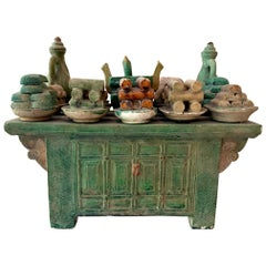 Stoneware Tomb Altar Model Ming Dynasty