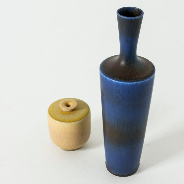 Mid-20th Century Stoneware Vase by Berndt Friberg for Gustavsberg, Sweden, 1960s For Sale