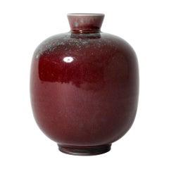 Stoneware Vase by Berndt Friberg for Gustavsberg, Sweden, 1975