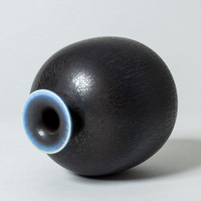 Scandinavian Modern Stoneware Vase by Berndt Friberg For Sale