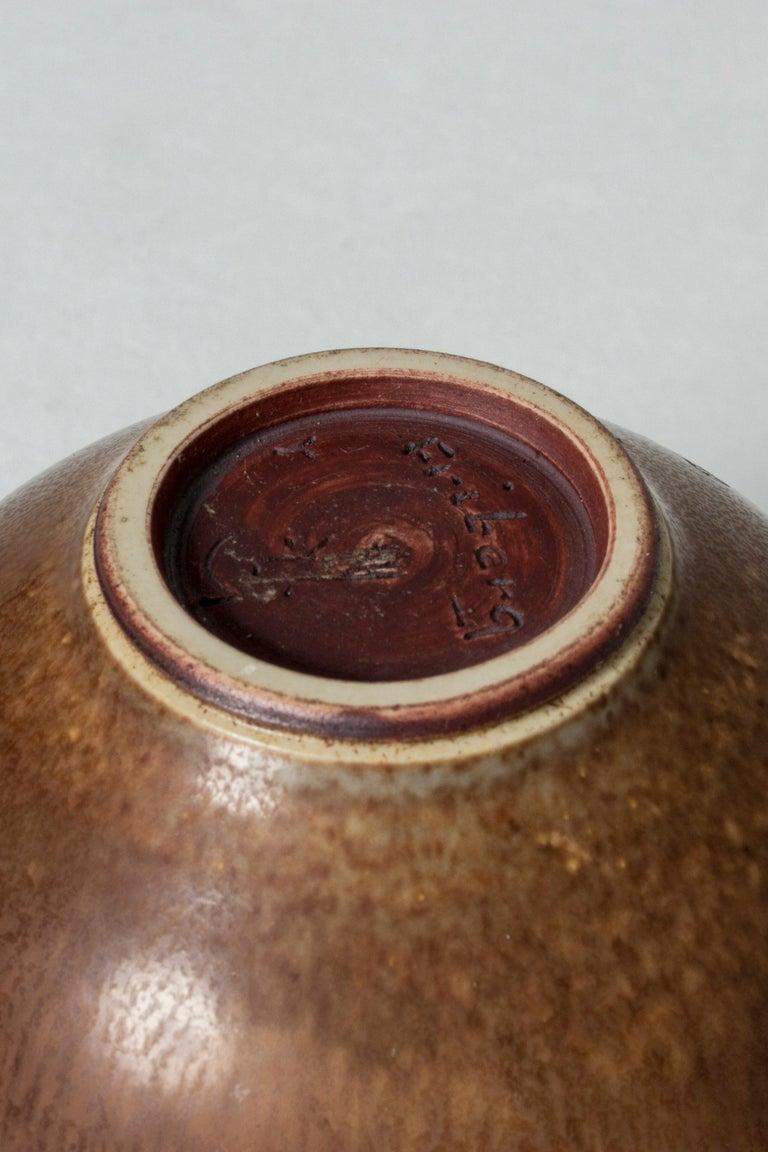 Stoneware Vase by Berndt Friberg For Sale 1