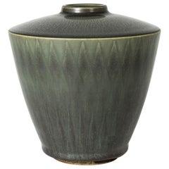 Stoneware Vase by Berndt Friberg