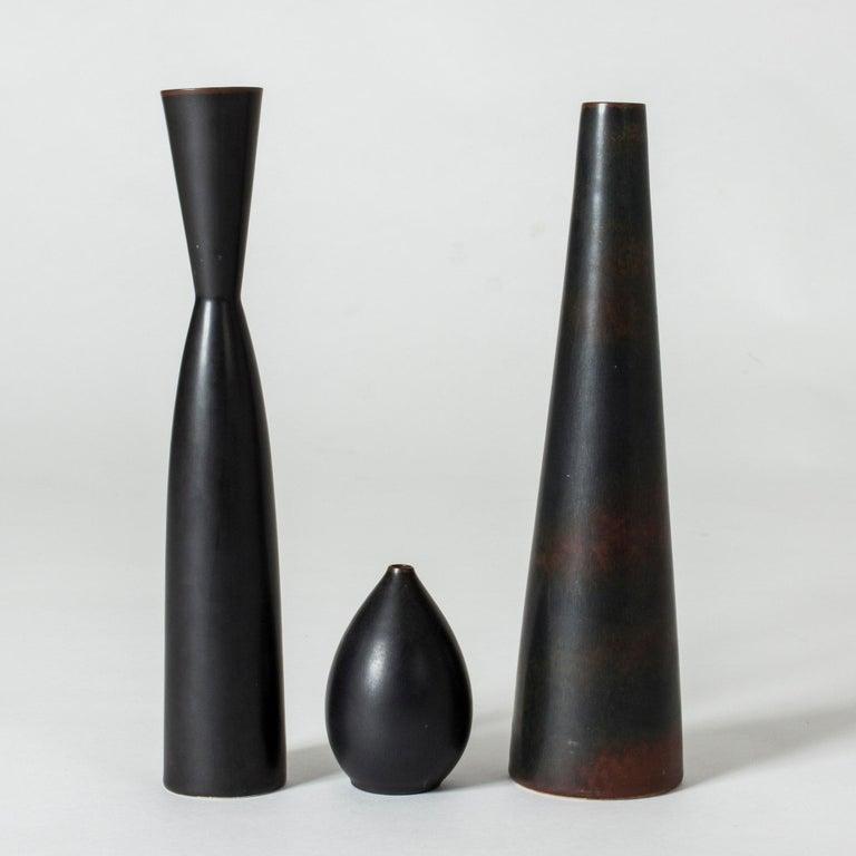 Stoneware Vase by Carl-Harry Stålhane For Sale 1