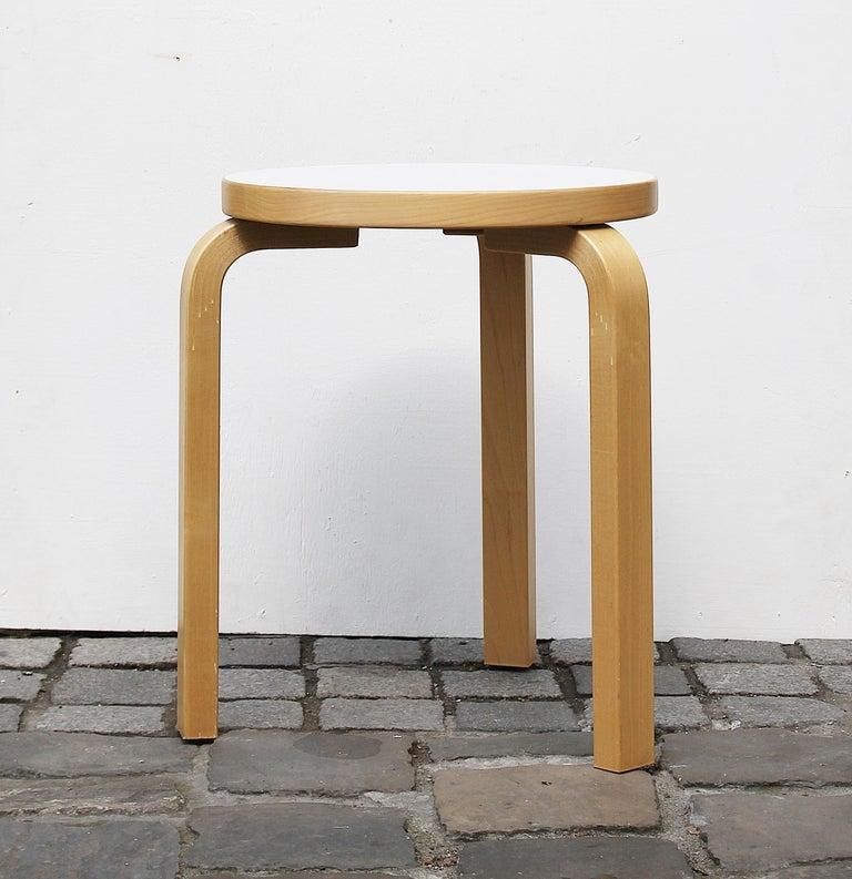 Stool by Alvar Aalto for Artek, 2007.