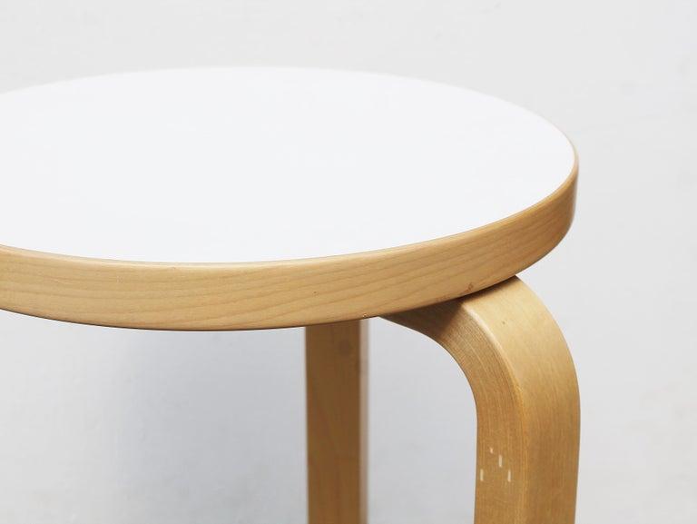 Contemporary Stool by Alvar Aalto for Artek, 2007 For Sale